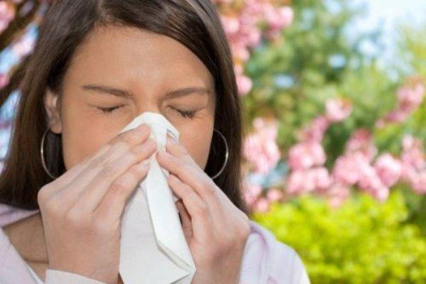Аллергия в апреле