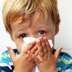 Аллергический ринит у детей