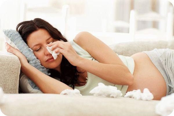 аллергический насморк при беременности