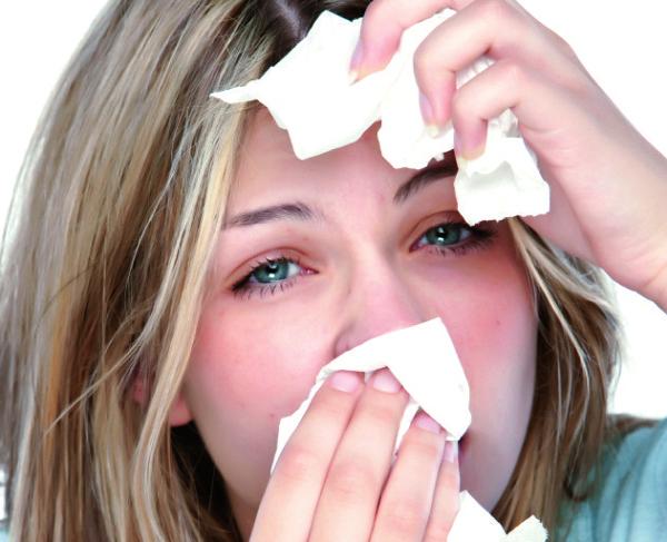 аллергия на дым лечение