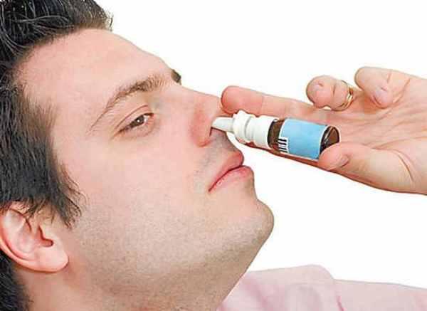 Капли в нос от аллергии